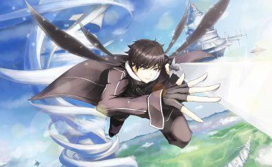 SAO, anime boy, Kirigaya Kazuto