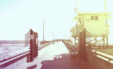 Retro Venice beach