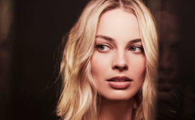 Margot robbie, famous celebrity, 4k