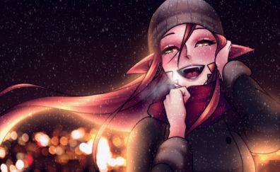 Miia, Daily Life With A Monster Girl, anime girl