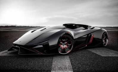 Lamborghini Diamante, sports car, Concept car, 4k
