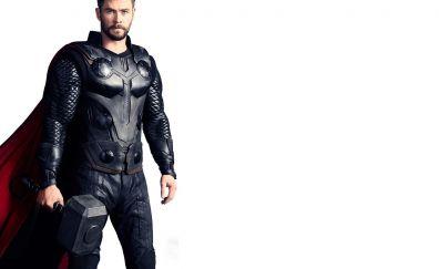 Avengers: infinity war, chris hemsworth, movie, actor, thor