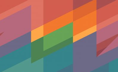 Material design, colorful, abstract, 4k