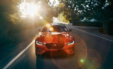 2018 Jaguar XE SV Project 8, front view
