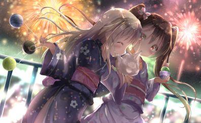 Girls, anime, kancolle