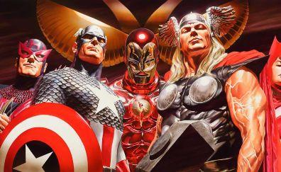 The avengers, marvel comics