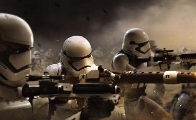 Stormtrooper, star wars, soldiers, 4k
