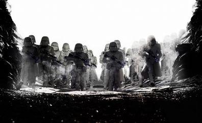 Stormtrooper, star wars: the last jedi, movie
