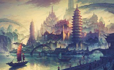 China town artwork