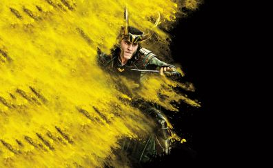 Loki, Thor: ragnarok, movie poster, 2017, 5k