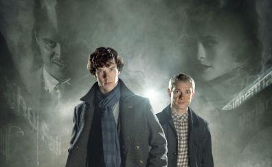 Benedict Cumberbatch, Martin Freeman, Sherlock, tv show