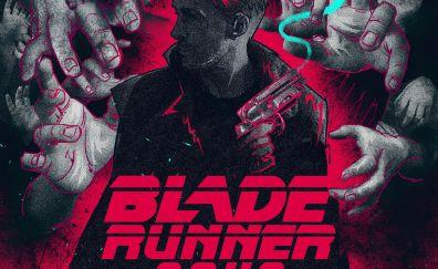 Blade Runner 2049, officer k, movie, art