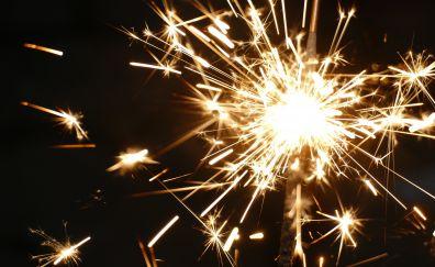 Sparklers, fireworks, 5k