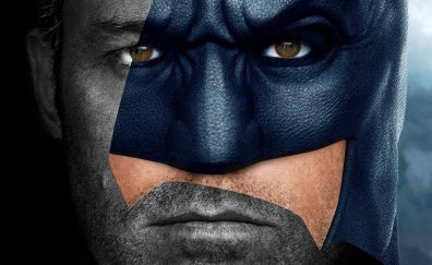 Batman, ben affleck, justice league, actor, movie, 4k