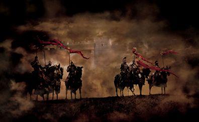 King Arthur 2004 movie, war