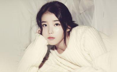 Lee Ji-eun (IU), a South Korean pop singer