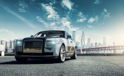 Vorsteiner Rolls Royce ghost Aero car