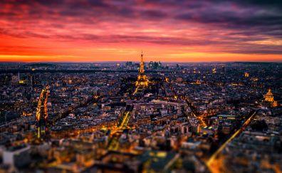 France, Paris, the evening