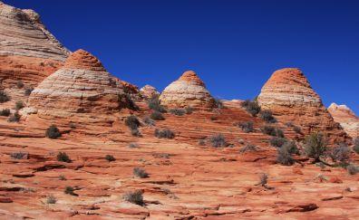 The wave Arizona small mountains