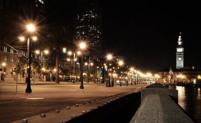 Cityscape night