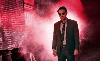 Charlie Cox, Daredevil TV show, sunglasses, night
