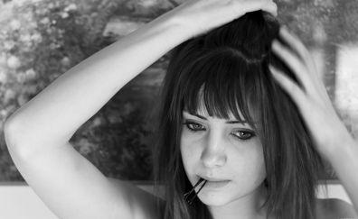 Model Susan Coffey monochrome