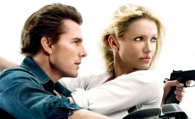 Tom Cruise, Cameron Diaz, Knight and Day, 2010 movie