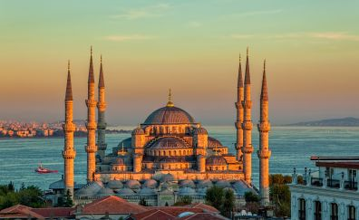 Sultan Ahmed Mosque, architecture