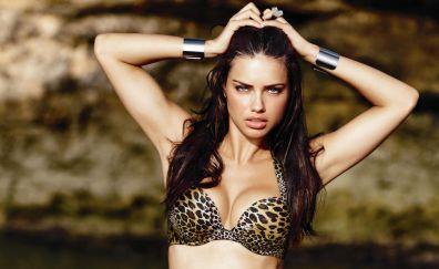 Hot Brazilian Model Adriana Lima in bikini