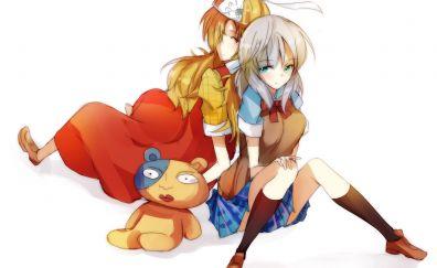 Momiji, Ichiko Sakura, Binbougami ga, anime girls