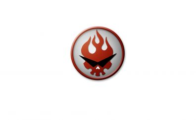 Kamina, Tengen Toppa Gurren Lagann, logo, anime, minimal