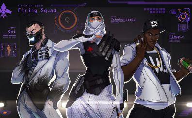Agents of mayhem, firing squad, team, video game