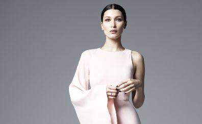 Bella hadid, beautiful, american model, 4k