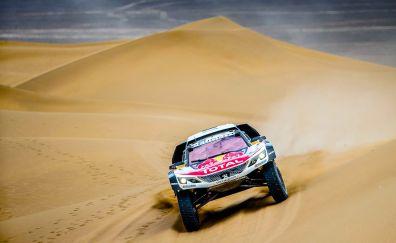 Desert, sports car, rallying, race