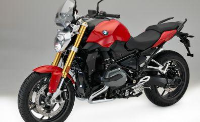 BMW R1200R, sports bike, red black
