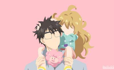 Kouhei Inuzuka, Amaama to Inazuma, Tsumugi Inuzuka, anime