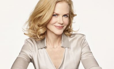 Nicole kidman, beautiful smile, 4k