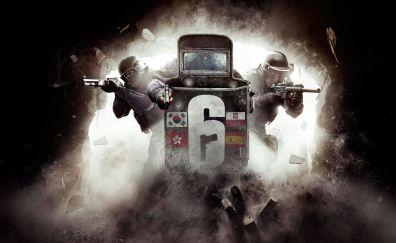 Video game, tom clancy's rainbow six siege, raid