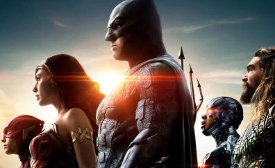 Justice league, 2017 movie, superhero team