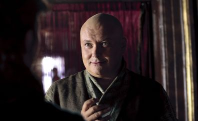 Conleth Hill, Lord Varys, game of thrones, tv show, 4k