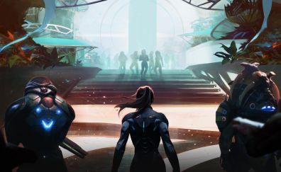 Mass Effect: Andromeda, n7, soldier, 4k