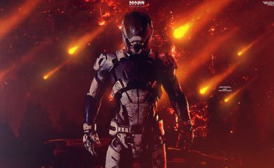 Mass Effect: Andromeda Video game, solider, N7