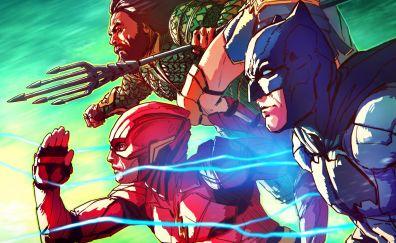 Justice league, superhero, 2017, imax poster