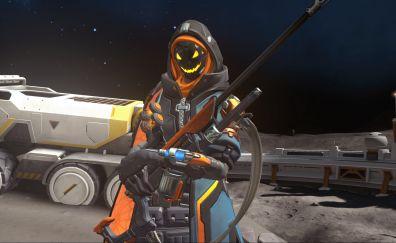 Ana, online game, overwatch, gun, 4k