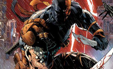 Deathstroke, villain, marvel comics