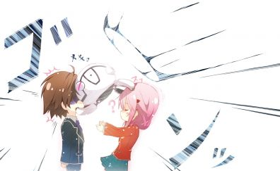 Inori Yuzuriha, Shu Ouma, Guilty Crown, anime
