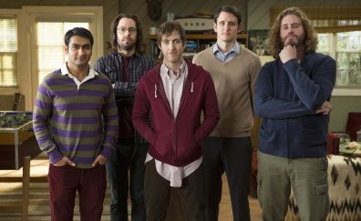 Silicon valley, TV show, cast, 4k
