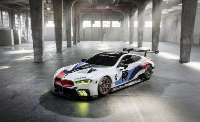 BMW M8 GTE, side view