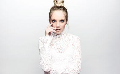 Danielle bradbery, blonde, beautiful celebrity, 5k