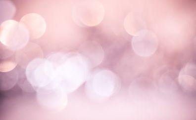 Pink, bokeh